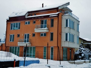 Our apartment building in Sofia, Bulgaria